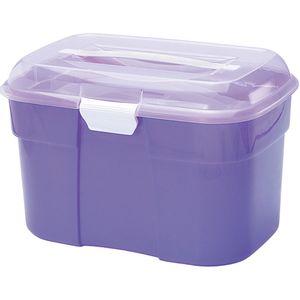 Organizador-Plasnorthon-Cosmetic-Box-Media-com-Divisoria-Cores-Sortidas