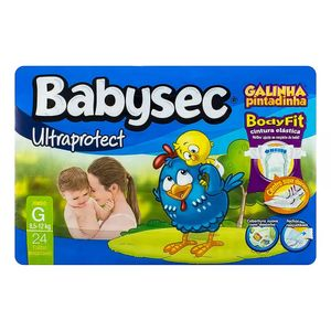 Fralda-Babysec-Galinha-Pintadinha-Ultraprotect-G-24-unidades