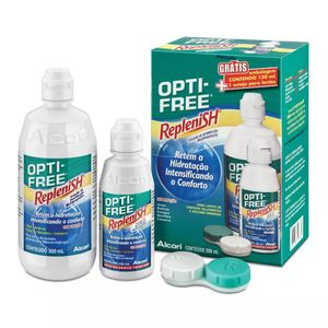 Opti-Free-RepleniSH-Solucao-Desinfeccao-Multiproposito-300ml-Gratis-120ml-1-Estojo-para-Lentes
