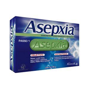 Asepxia-Sabonete-Antiacne-Facial-e-Corporal-Adstringente-Herbario-Esfoliante-85g