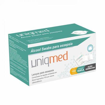 alcool-swabs-para-assepsia-uniqmed-100-unidades