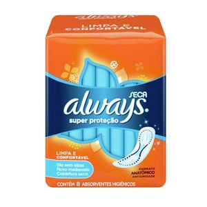 absorvente-always-super-protecao-cobertura-seca-sem-abas-8-unidades