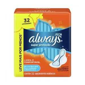 absorvente-always-super-protecao-cobertura-seca-com-abas-32-unidades-leve-mais-pague-menos