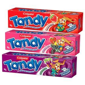 creme-dental-infantil-tandy-gel-sabores-sortidos-leve-3-pague-2-com-50g-cada
