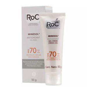protetor-solar-minesol-antioxidant-fps-70-gel-creme-50g