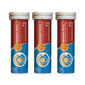 kit-redoxon-zinco-efervescente-laranja-1g-bayer-leve-3-pague-2-com-10-comprimidos-cada