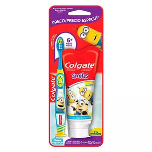 kit-escova-dental-infantil-colgate-minions-extra-macia-6-anos-1-gel-dental-personagens-sortidos