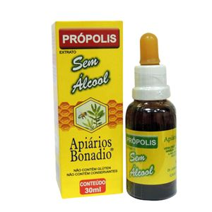 Extrato de Própolis Verde Sem Álcool Apiários Bonadio 30ml
