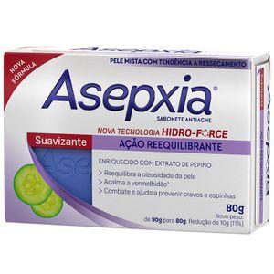Asepxia-Sabonete-Antiacne-Facial-e-Corporal-Suavizante-80g