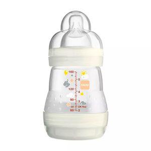 mamadeira-mam-first-bottle-bico-de-silicone-ortodontico-silk-touch-desenhos-sortidos-160ml-0-meses-neutra