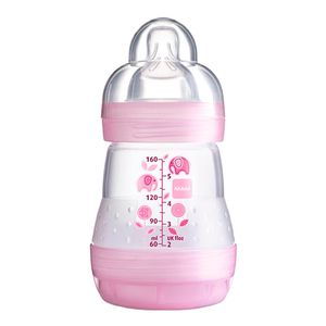 mamadeira-mam-first-bottle-bico-de-silicone-ortodontico-silk-touch-desenhos-sortidos-160ml-0-meses-girls-ref-4662