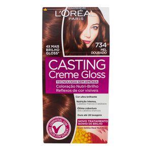 tintura-creme-casting-creme-gloss-l-oreal-mel-dourado-734-kit