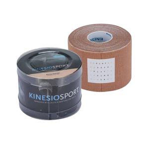 319c1275bd Fita de Kinésio Bandagem Elástica Adesiva Kinesiosport 5cmx5m Bege