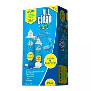 All-Clean-Soft-Solucao-Multiproposito-para-Lentes-de-Contato-Hidrofilicas-350ml---Gratis-120ml---Estojo-para-Lentes