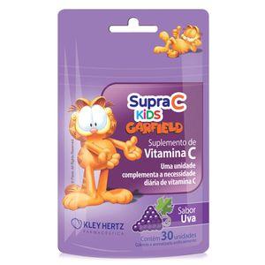 Supra-C-Kids-Garfield-Sabor-Uva-30-Gomas