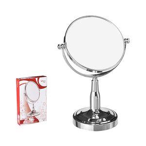 """Espelho-de-Mesa-Wellmix-Bella-Dupla-Face-Redondo-com-Pedestal-e-Aumento-6"""""""