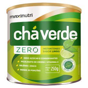Cha-Verde-Soluvel-Zero-Maxinutri-Sabor-Limao-250g