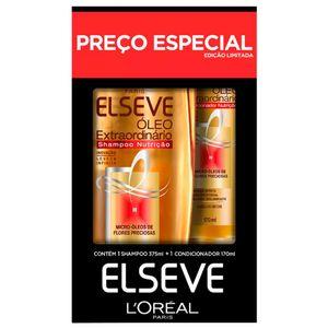 Kit-Shampoo-375ml---Condicionador-170ml-Elseve-Oleo-Extraordinario-Preco-Especial