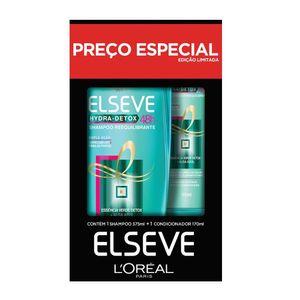 Kit-Shampoo-375ml---Condicionador-170ml-Elseve-Hydra-Detox-Preco-Especial