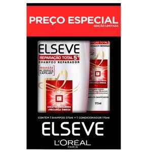Kit-Shampoo-375ml---Condicionador-170ml-Elseve-Reparacao-Total-5--Preco-Especial