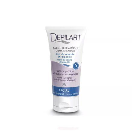 Creme-Depilatorio-Facial-Depilart-Oleo-de-Semente-de-Algodao-30g