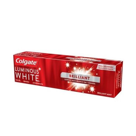 Creme-Dental-Colgate-Luminous-White-Brillant-50g