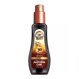 protetor-solar-australian-gold-com-instant-bronzer-fps-30-spray-gel-125g