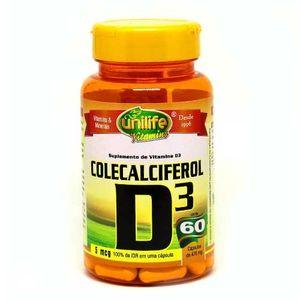 vitamina-d3-colecalciferol-unilife-60-capsulas