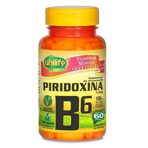 vitamina-b6-piridoxina-unilife-60-capsulas