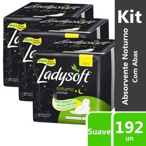 Kit-Absorvente-Ladysoft-Noturno-Com-Abas-192-unidades