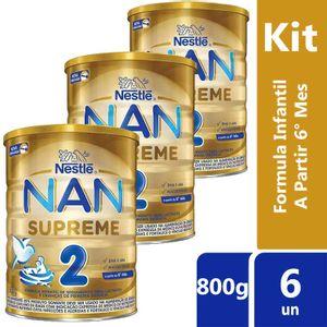 Kit-Leite-Nan-Supreme-2-Acima-6-Meses-800g-6-unidades-