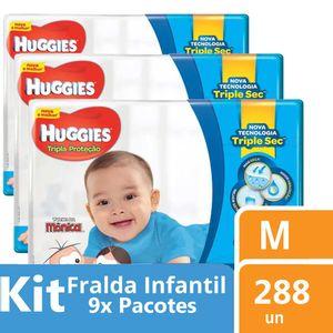 Kit-Fralda-Huggies-Turma-da-Monica-Tripla-Protecao-M-288-unidades