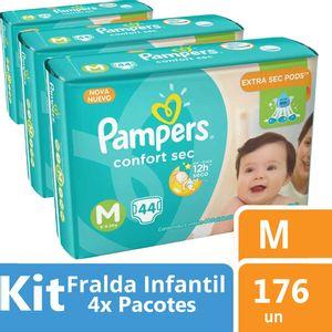 Kit-Fralda-Pampers-Confort-Sec-M-176-unidades