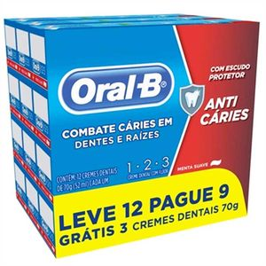 Kit-Creme-Dental-Oral-B-123-Anti-Caries-Menta-Suave-Leve-12-Pague-9-com-70g-cada
