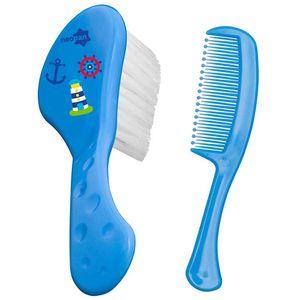 conjunto-escova-e-pente-neopan-azul-estampas-sortidas-ref-7201
