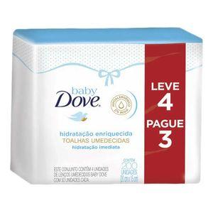 Kit-Lenco-Umedecido-Dove-Baby-Hidratacao-Enriquecida-Leve-4-Pague-3