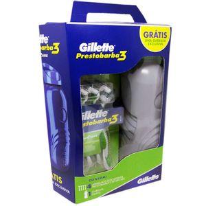 Kit-Aparelho-de-Barbear-Gillette-Prestobarba-3-4-Unidades---Gratis-Garrafa