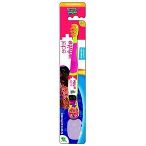 Escova dental Infantil Edel White Kids Flosserbrush Mini Beat Power Rockers Cores Sortidas 1 Unidade