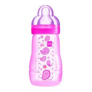 mamadeira-mam-easy-active-fashion-bottle-bico-de-silicone-cores-sortidas-270ml-2-meses-grls-ref-4838