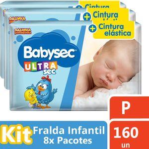 FRALDA-BABYSEC-GALINHA-PINTADINHA-ULTRASEC-P-20-UNs