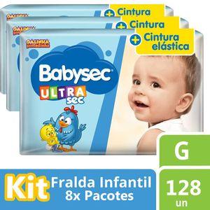 Fralda-Babysec-Galinha-Pintadinha-Ultra-G-18-unidades