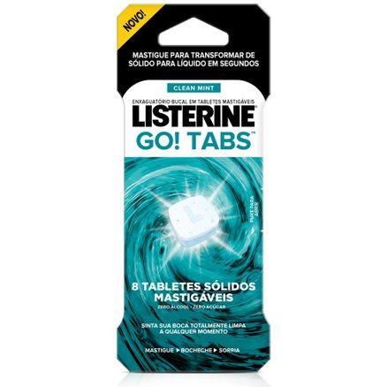 Listerine-Go--Tabs-Tablete-Mastigavel-Clean-Mint-8-Unidades