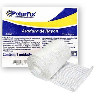 Atadura de Rayon Polarfix 7,5cm X 5m Não Estéril 1 Unidade