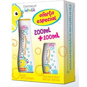 Kit-Sabonete-Intimo-Dermacyd-Infantil-200ml---100ml-Oferta-Especial