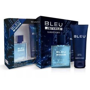 Estojo-Euroessence-Bleu-Intense-Eau-De-Toilette-50ml---Shower-Gel-100ml
