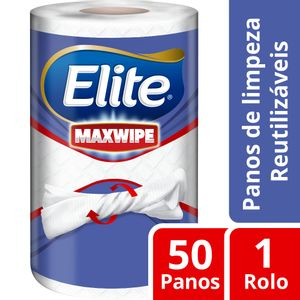 Pano-de-Limpeza-Reutilizavel-Elite-Maxwipe-1-Rolo-com-50-Unidades