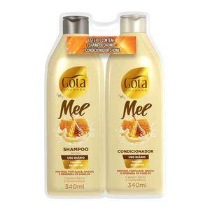 Kit-Shampoo---Condicionador-Gota-Dourada-Mel-340ml