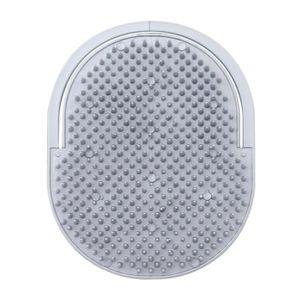 Escova de Cabelo Masculina Ricca Oval Cores Sortidas 1 Unidade