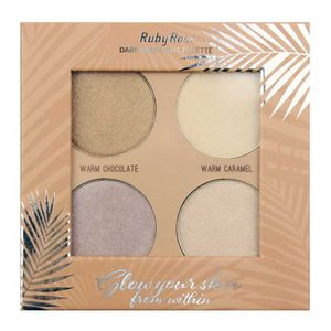 paleta-iluminador-ruby-rose-glow-your-skin-dark-hb-7500d