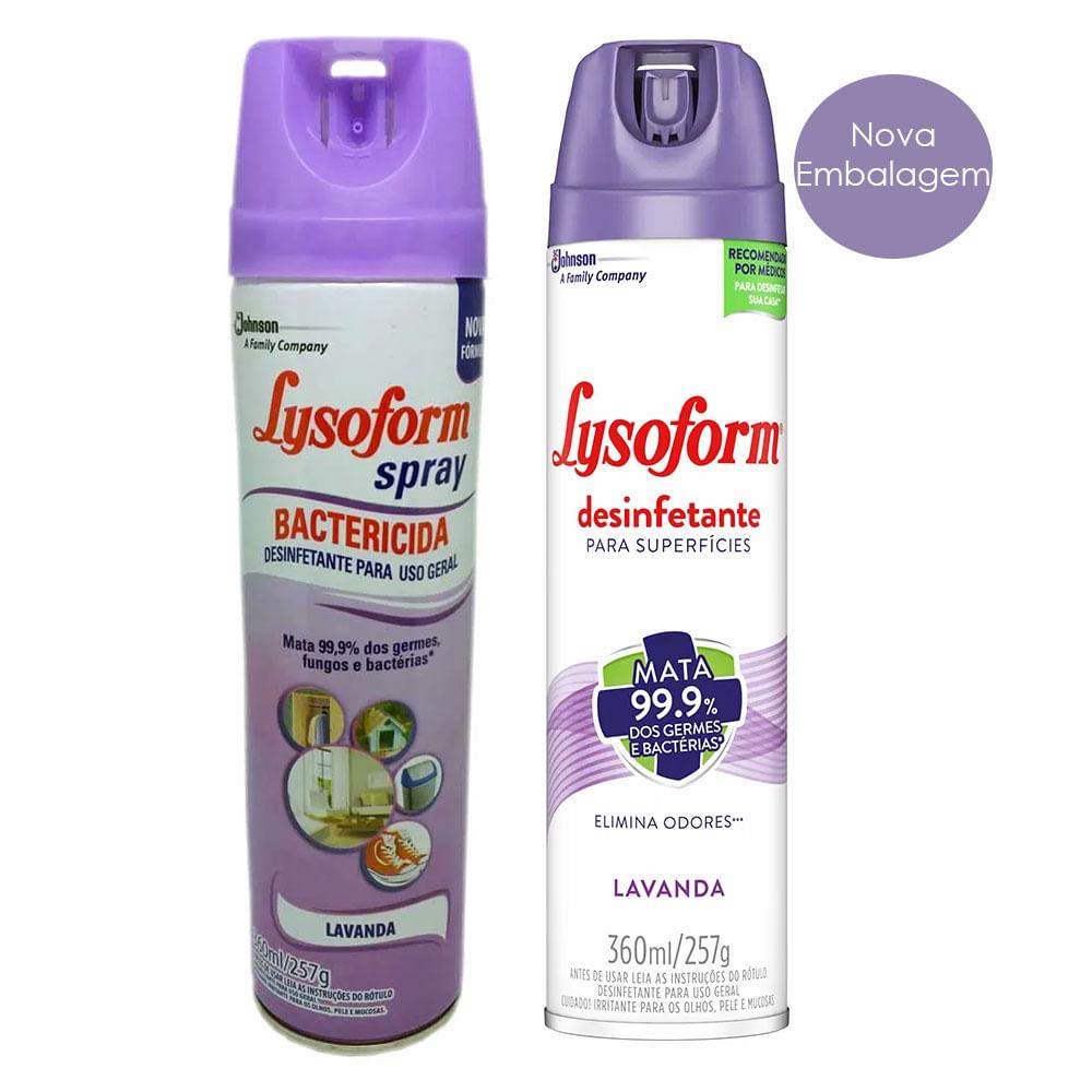lysoform spray coronavirus